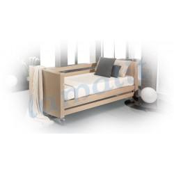 Cama Asistencial Geriátrica + colchón